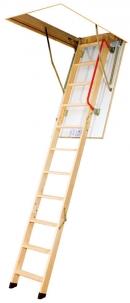 Складная деревянная чердачная лестница LTK и LTK Energy термоизоляционная