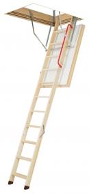 Складная деревянная чердачная лестница LWT суперэнергосберегающая