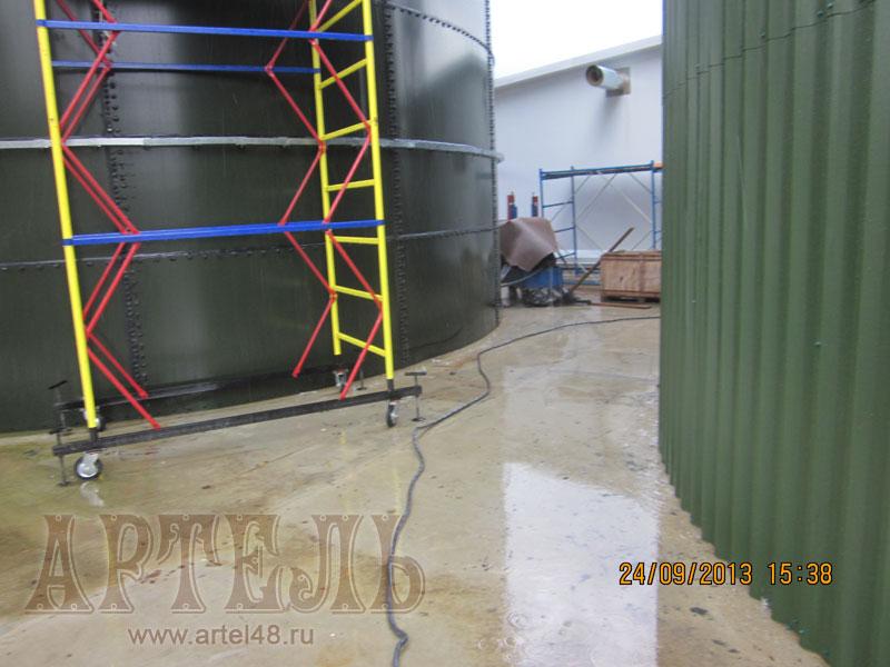 Гидроизоляция пожарных резервуаров технониколь лак полиуретановый hesse 2