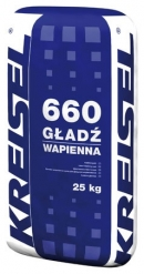 Шпатлевка GŁADŹ WAPIENNA 660