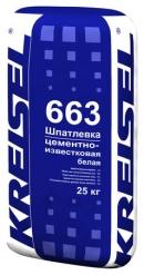 Шпатлевка WEISSE ZEMENTGLÄTTE 663