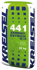 Цементная стяжка ZEMENT-ESTRICH M-15 441