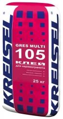 Клей для керамогранита GRES MULTI 105