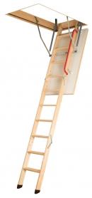 Складная деревянная чердачная лестница LWK Plus