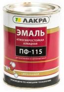 Эмаль ПФ-115 ЛАКРА