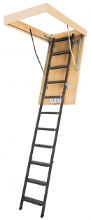 Складная металлическая чердачная лестница LMS