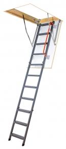 Складная металлическая чердачная лестница LMK