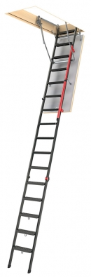 Металлическая чердачная лестница для высоких потолков LMP