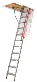Складная металлическая чердачная лестница LML Lux