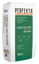 Штукатурка гипсовая Perfekta - ГИПСТАР МН белый