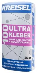 Клей для плитки и керамогранита ULTRA KLEBER 100
