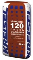 Теплоизоляционная кладочная смесь DÄMM-MAUERMÖRTEL 120